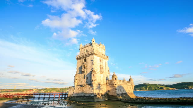 4K Time Lapse :Tower of Belem