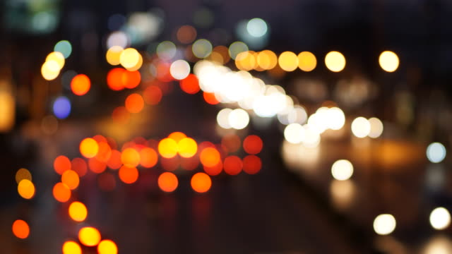 Time lapse - Traffic light in Bangkok street video
