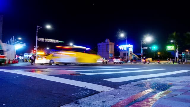Time lapse : Traffic to night video