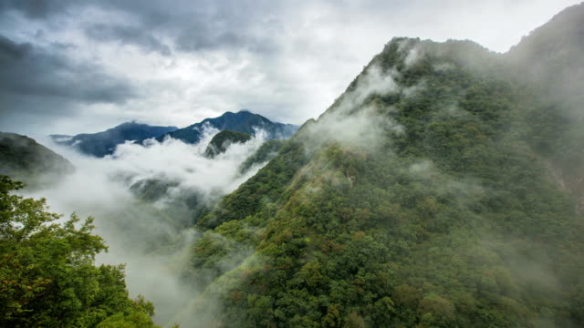Time lapse video in Taroko National Park video