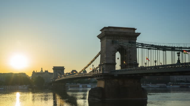 Time Lapse video of Chain Bridge in Budapest, Hungary timelapse Time Lapse video of Chain Bridge in Budapest, Hungary timelapse hungary stock videos & royalty-free footage
