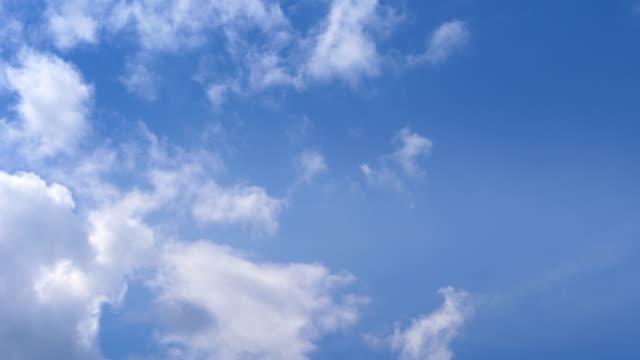 zeitraffer-video ändern wolkengebilde in 4k - untersicht stock-videos und b-roll-filmmaterial