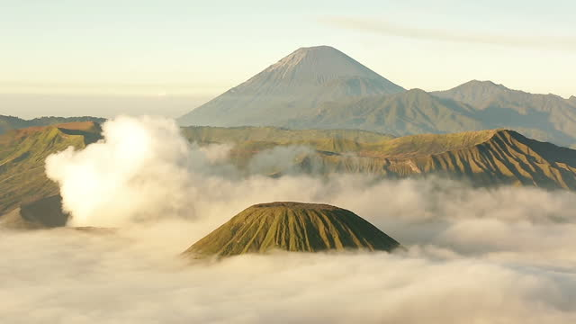 Time Lapse video of Mount Bromo