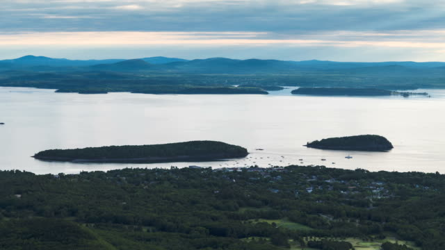 Time lapse view from the Cadillac Mountain video