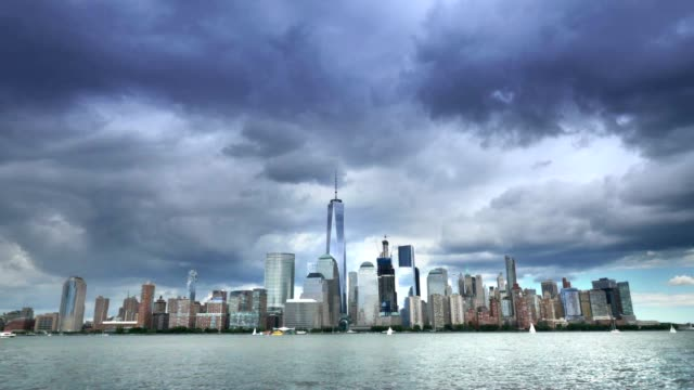 Time Lapse View of Lower Manhattan video