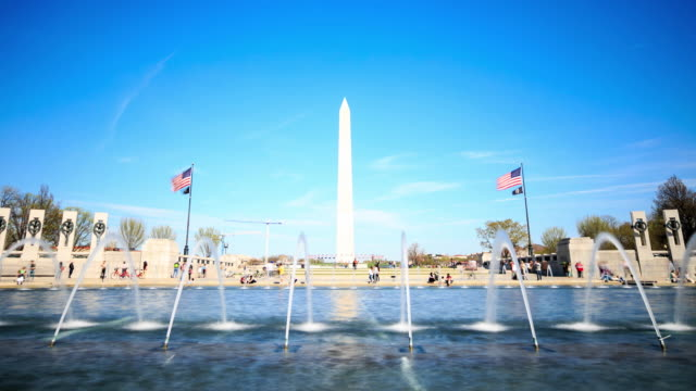 4K Time Lapse : Washington Monument video