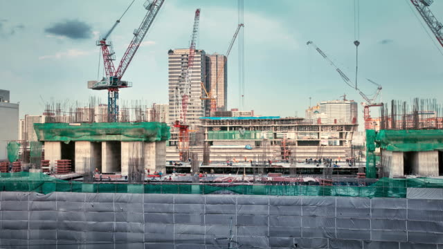Time lapse,Construction Site video