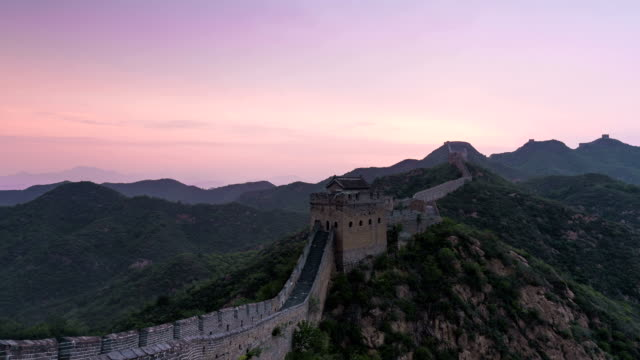 Time Lapse-greatwall at sunrise video