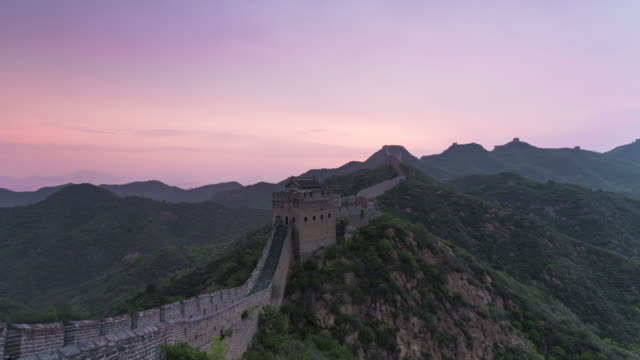 Time Lapse-jinshanling great wall video