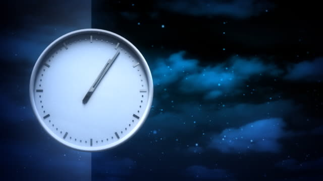 Time. Loopable background video