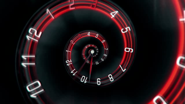 Time Spiral - Loopable video