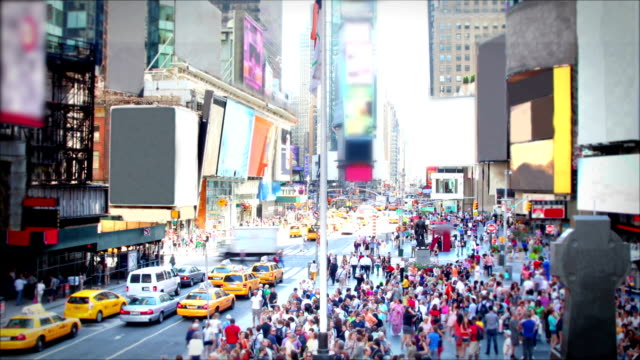 Time Square Daytime, New York City video