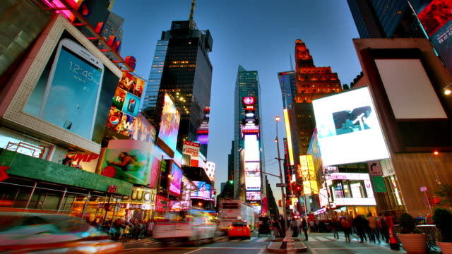 Time square. New York New York. USA musical theater stock videos & royalty-free footage