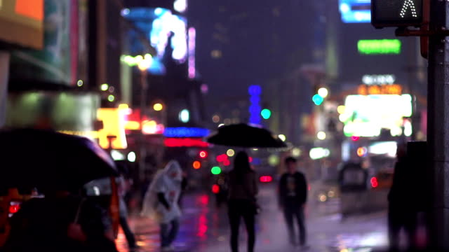 Time Square Night Life video