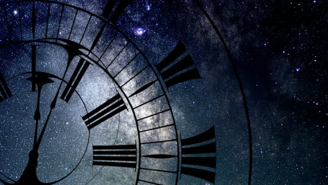 Bидео Time Warp. Time and Space, General Relativity. Milky way Galaxy