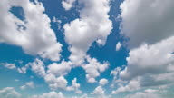 istock Timelapse Aerial Wide Shot Of Clouds Movinf Over Blue Sky 1199066999