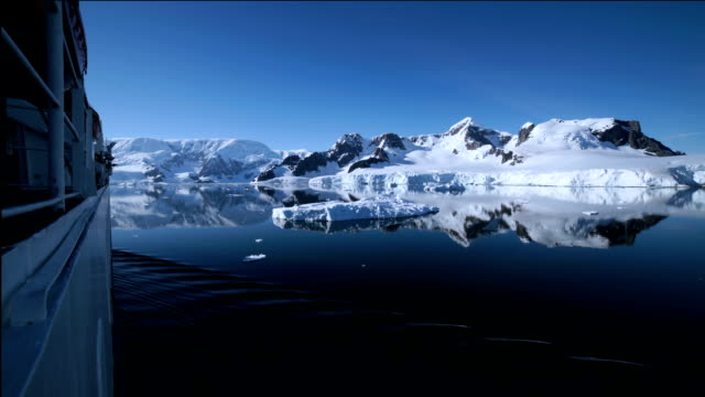 time-lapse : antarctic cruise - antarctica travel stock videos and b-roll footage