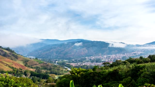 Time-lapse at Bocono mountains during a sunset, Trujillo State. Venezuela Time-lapse at Bocono mountains during a sunset, Trujillo State. Venezuela general view stock videos & royalty-free footage