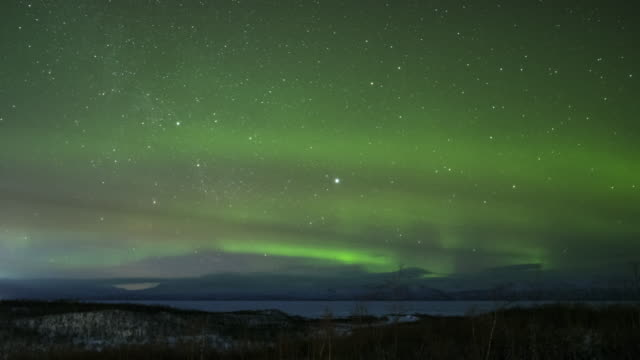 timelapse aurora northern lights - norrbotten bildbanksvideor och videomaterial från bakom kulisserna