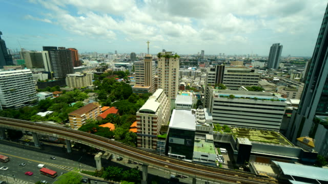 Time-lapse Bangkok city in Thailand video