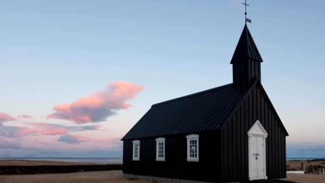 Timelapse Black Church Iceland video