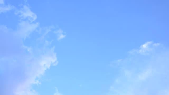 timelapse mavi gökyüzü - blue sky stok videoları ve detay görüntü çekimi