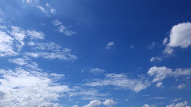 Timelapse blue Sky