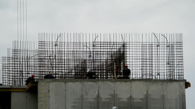 Timelapse: Builders reinforce reinforcement video