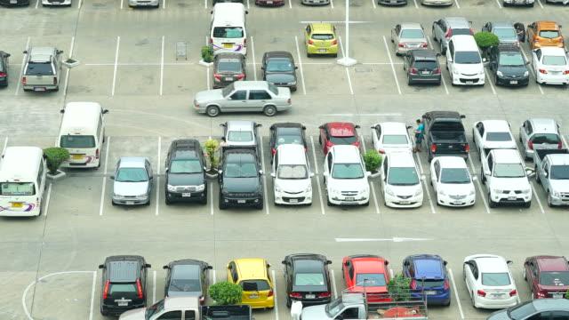 Time-lapse - Car parking lot video