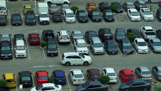 stockvideo's en b-roll-footage met time-lapse: parkeerplaats - parkeren