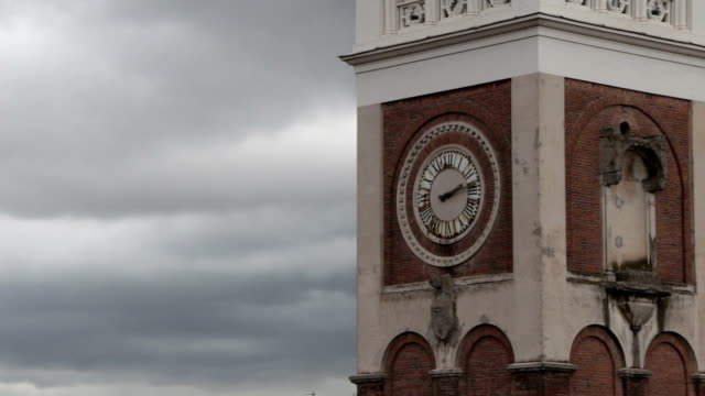 timelapse - church and clouds video