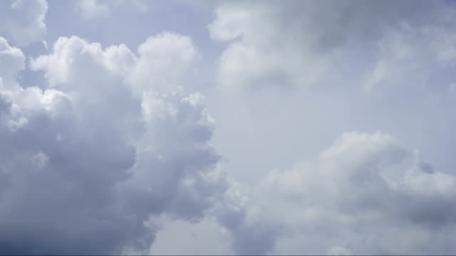 Timelapse Clouds Cumulonimbus Before the storm video