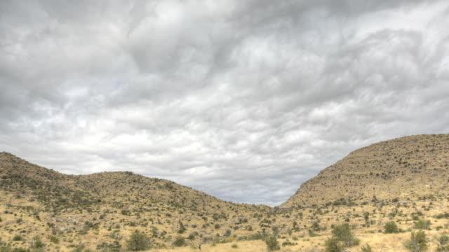 HDR Timelapse Coronado National Forrest video