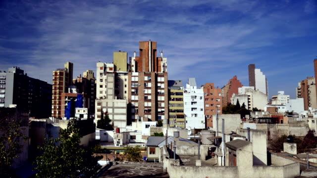 timelapse Córdoba city, buildings video