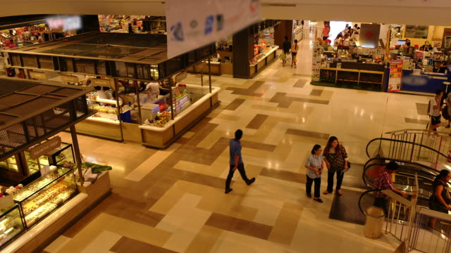 HD time-lapse : Department store from Salaya , Thailand