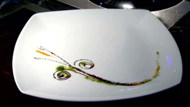 Timelapse Designing Food Plate video