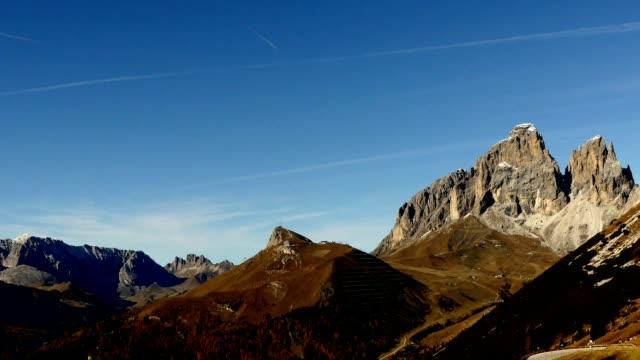 Timelapse Dolomites alps, Italy video