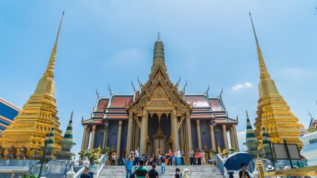 Timelapse emerald temple video