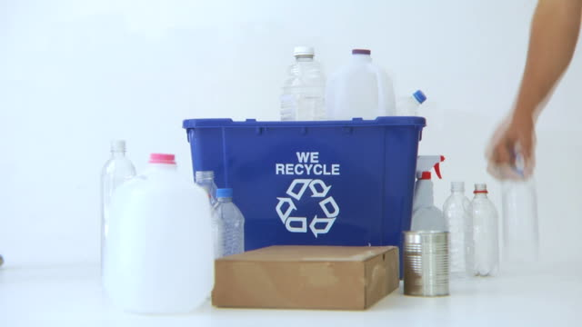 Timelapse, filling up recycle bin video