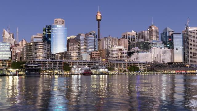 Timelapse Footage of Darling Harbour, Sydney, NSW, Australia