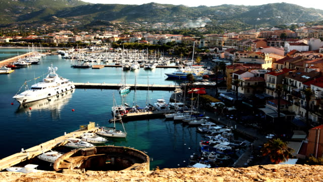 Timelapse from the Citadel in Calvi in Corsica video