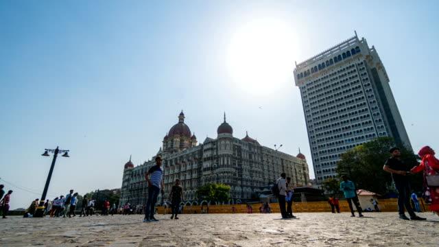 timelapse : Gateway of India Mumbai, India video