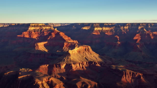 4K Timelapse Grand Canyon National park at sunrise view from Mather Point, Arizona, USA