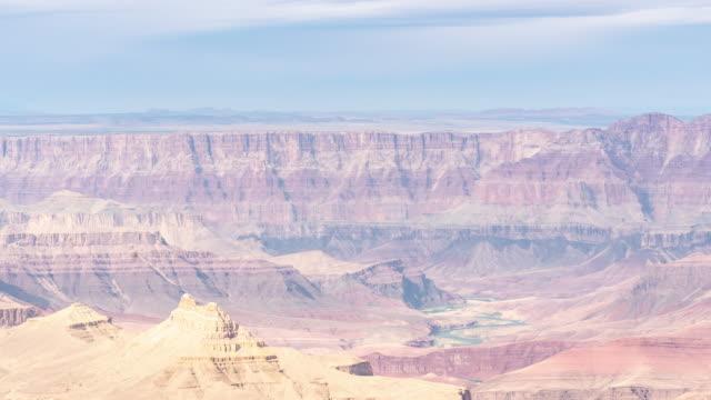 time-lapse grand canyon national park south rim i arizona usa - på gränsen bildbanksvideor och videomaterial från bakom kulisserna