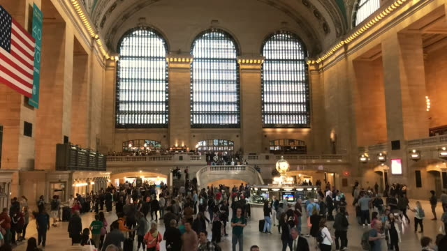 Time-lapse Grand Central New York City