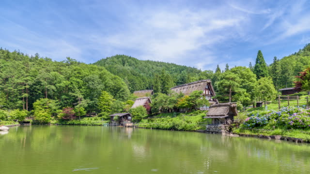 4K Timelapse: Hida Folk Village at Takayama, Japan video