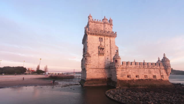 stockvideo's en b-roll-footage met timelapse in belem - portugal