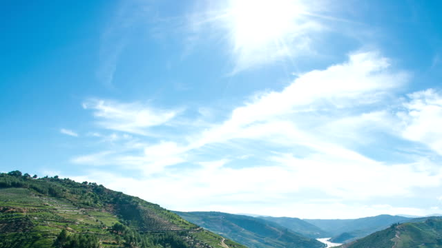 Timelapse in Douro Valley video