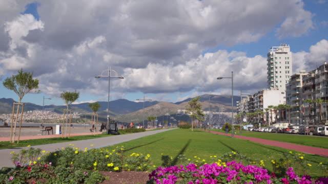 4K: Timelapse in Kordon district of Izmir 4K: Timelapse in Kordon district of Izmir. aegean turkey stock videos & royalty-free footage