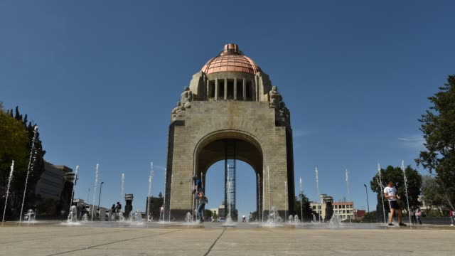 time-lapse in Mexico City